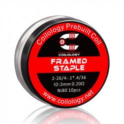 Framed Staple ni80 0.20ohm