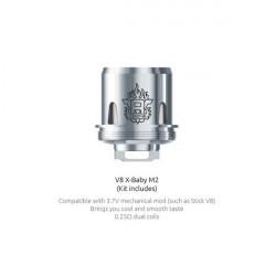Résistances TFV8 X-Baby M2 Smok