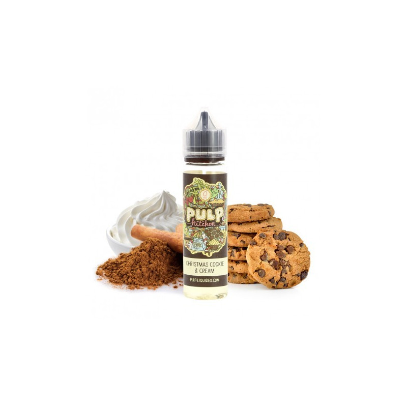 Christmas Cookie & Cream 50ml ZHC 0mg Pulp Kitchen by Pulp