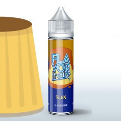 Flan vanille 50ml 0mg Flavor Freaks