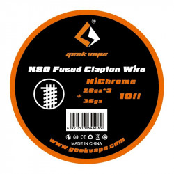 Fil N80 Fused Clapton Wire...